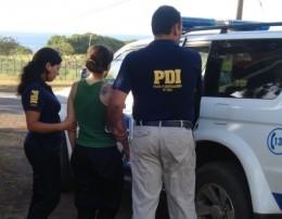 Española detenida | PDI