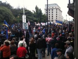 Protestas en Punta Arenas / J.M. Muñoz