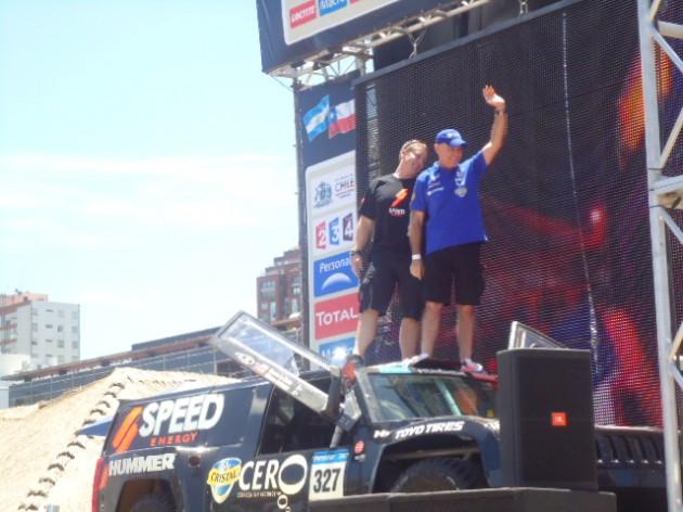 Esperanzadora largada de los pilotos chilenos en el Dakar 2011