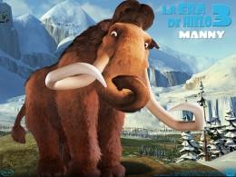 Manny, el mamut de la película La Era del Hielo