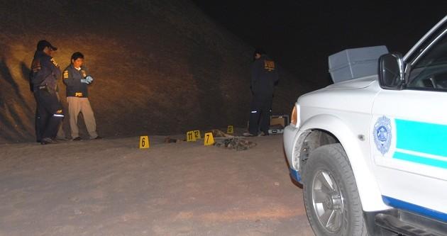Identifican restos encontrados en Alto Hospicio