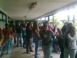 Manifestantes   Foto: Pedro Cid