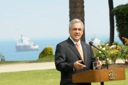 Sebastián Piñera   Foto: Hugo Adonis en fotopresidencia.cl