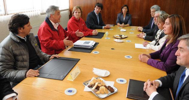 Reunión en Punta Arenas
