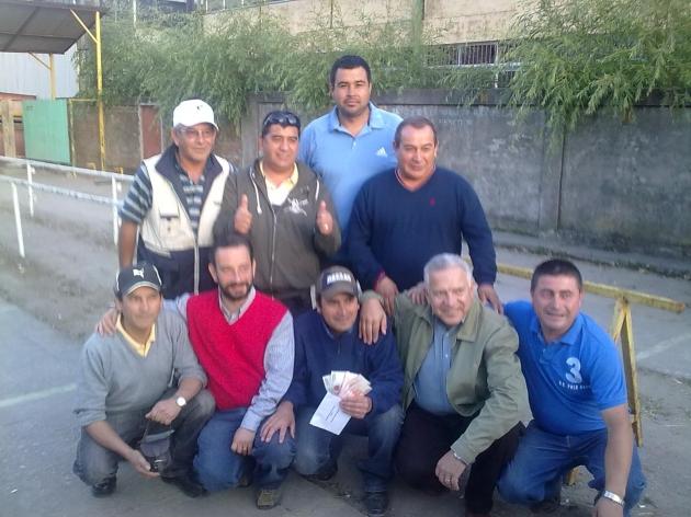 Realizan final de campeonato de rayuela en Penco    Alexis Gutierrez