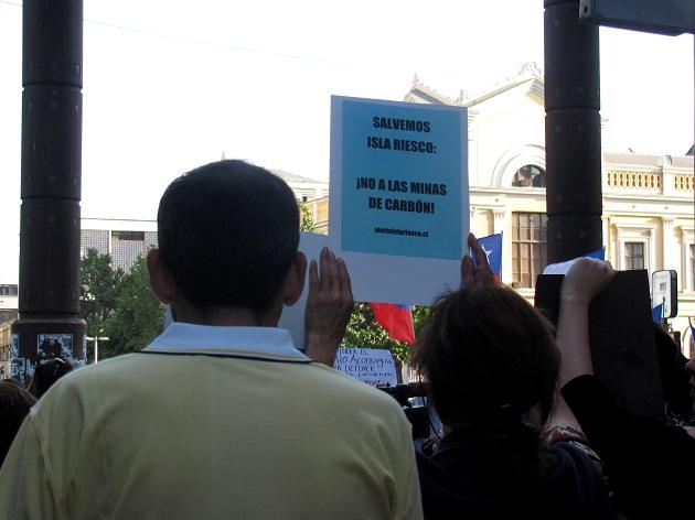 Protesta en Santiago   C.Ortiz