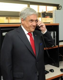 Piñera en la Agencia Nacional de Protección Civil | Fotopresidencia