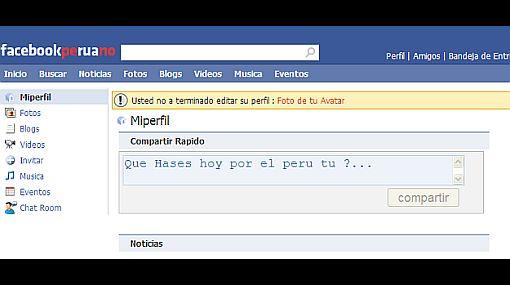 Facebook Peruano