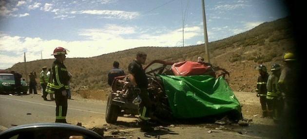 Accidente en Vallenar | Imagen de Gonzalo (@fouere)