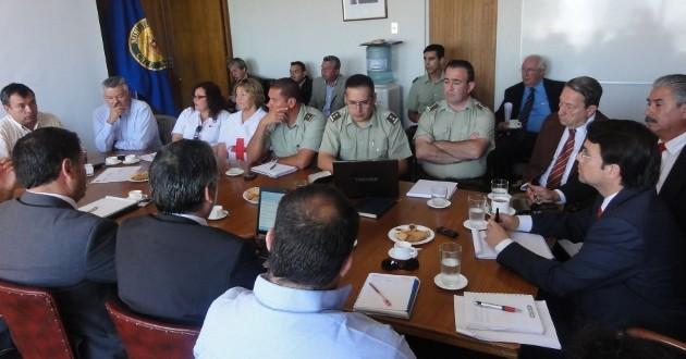 Reunión de coordinación | Carlos Campos