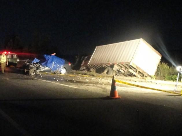 Accidente en Chiloé | Imagen de El Dalcahuino