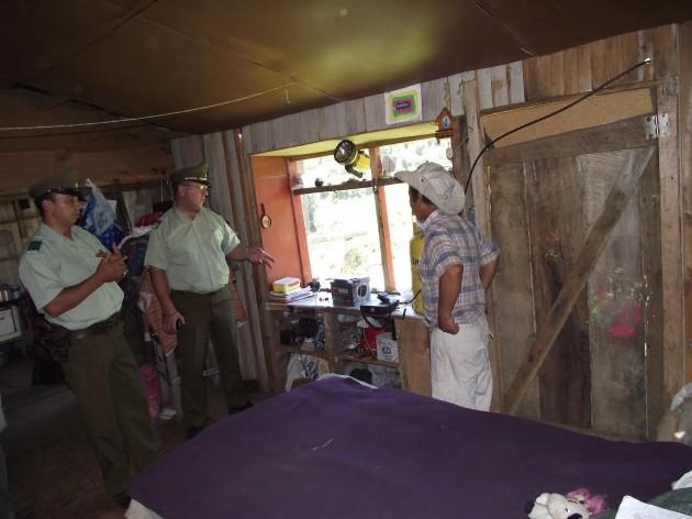 Visita a Comunidad Pewen Mapu / Imagen: Mauricio Alarcón