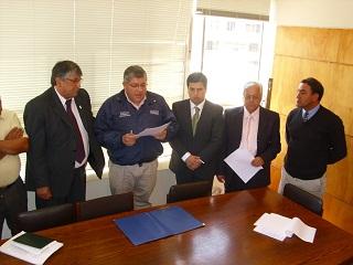 Firma de acuerdo sobre TNE en Valparaíso
