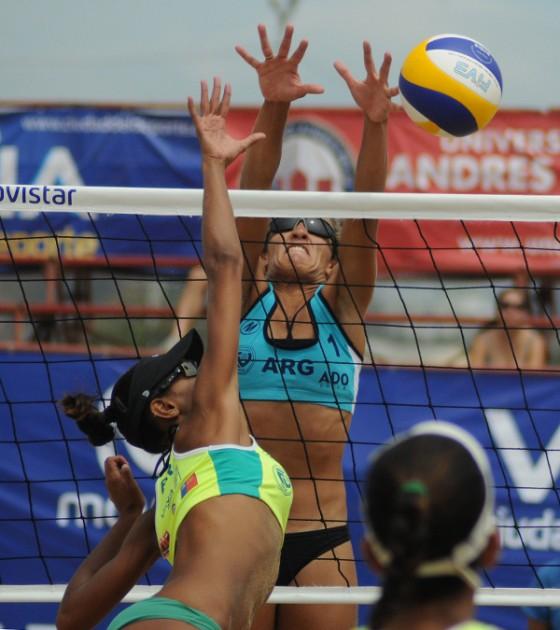 Volley Playa: Brasil y Colombia disputarán la final femenina del Sudamericano