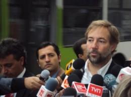 Ministro Errázuriz | Prensa Ministerio de Transportes