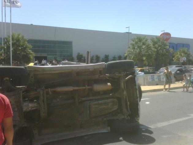 Accidente de tránsito en Avenida Quinto Centenario en Quilpué | Francisco Vargas López