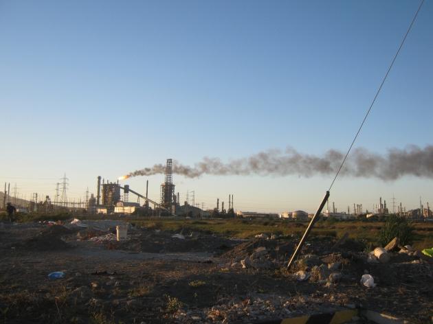 Contaminacion en Hualpén y Concepción | Patrick Aravena