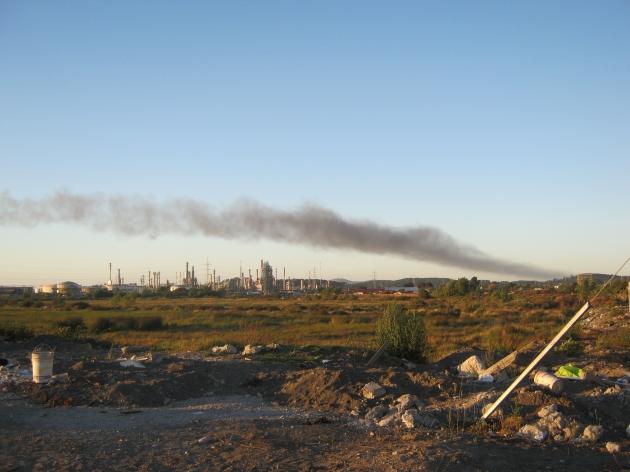 Contaminacion en Hualpén y Concepción   Patrick Aravena