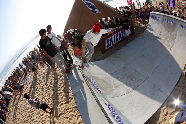 El skate park de Playa Brava habrán demostraciones