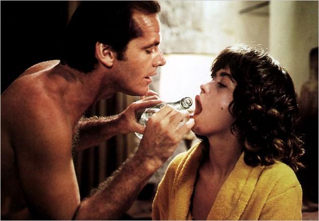 ack Nicholson y Maria Schneider en filme