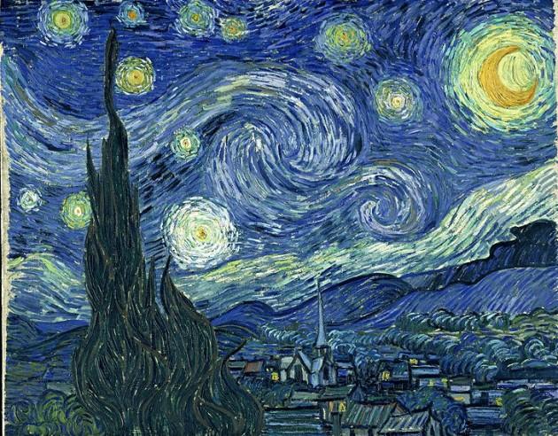 La Noche Estrellada de Van Gogh | Wikipedia