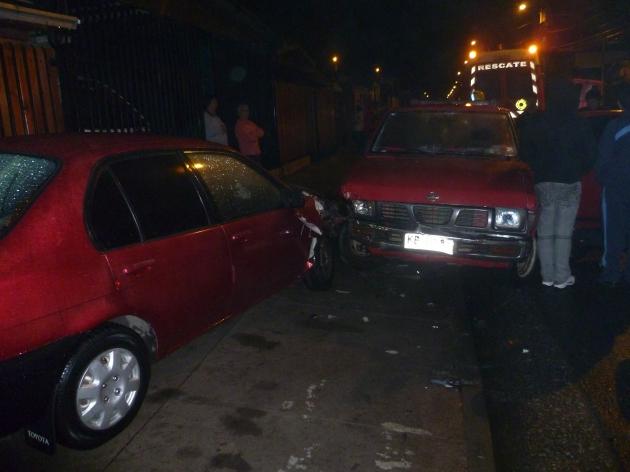 Conductor en estado de ebriedad genera accidente de tránsito | Rodrigo Ormeño N.