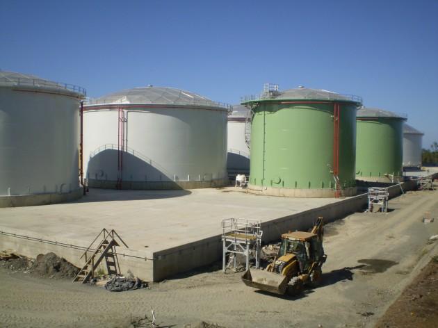 Planta de Almacenamiento de Combustibles de Copec | Imagen: Mauricio Baeza