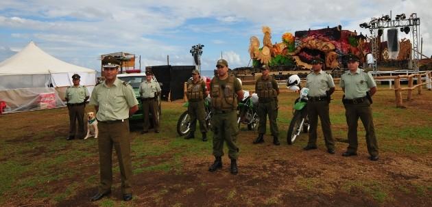 Carabineros se prepara para Fiesta Tapati en Rapa Nui | Carabineros