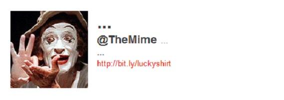 The Mime en Twitter