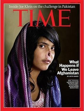 La foto apareció hace unos meses en la portada de Time
