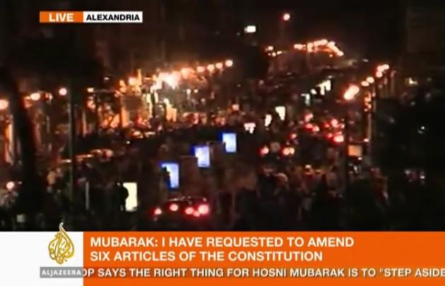 Multitud protesta en las calles de Alejandría | Al Jazeera