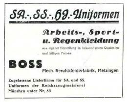 Uniformes confeccionados por Hugo Boss