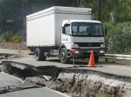 Camión con ayuda para la zona afectada | eldalcahuino.com