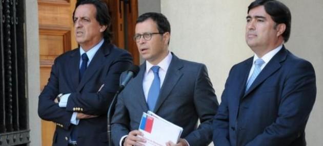 Victor Pérez, Rodrigo Hinzpeter y Mario Desbordes | RN.cl