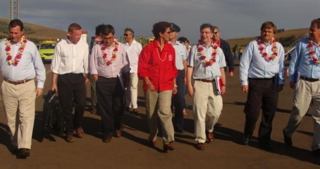 Comitiva de Gobierno en Rapa Nui | minagri.gob.cl
