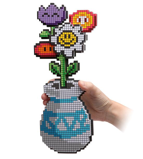 Flores en 8-bit | Think Geek