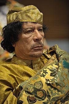 Muamar Kadhafi | WIkipedia