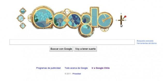 Google recuerda a Julio Verne