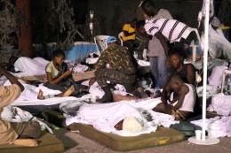 Campamento en Haití post terremoto | Wikipedia