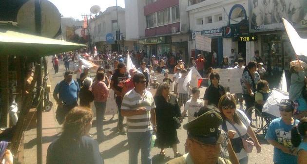 Nueva protesta de comerciantes ambulantes | Luis Vergara