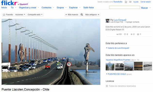 Puente Llacolén | Flickr de Luis Enrique Fritz