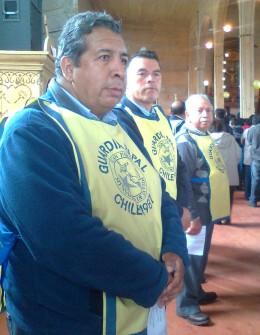 Guardias papales | Foto: Sergio Osses