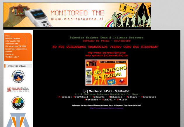 www.monitoreotne.cl
