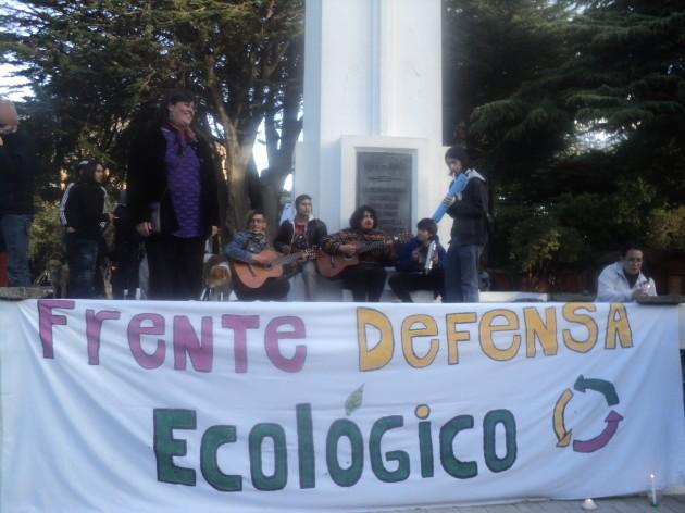 Manifestación en Punta Arenas | Foto: Simón Collado