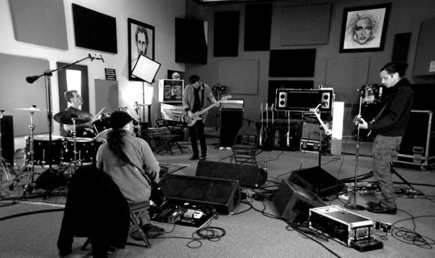 Soundgarden en Estudio - Soundgarden.com