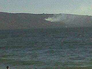 Foto desde Viña del Mar | @cristiangarciav en Twitter