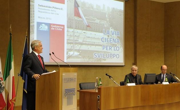 Presidente Piñera en Italia | Fotopresidencia