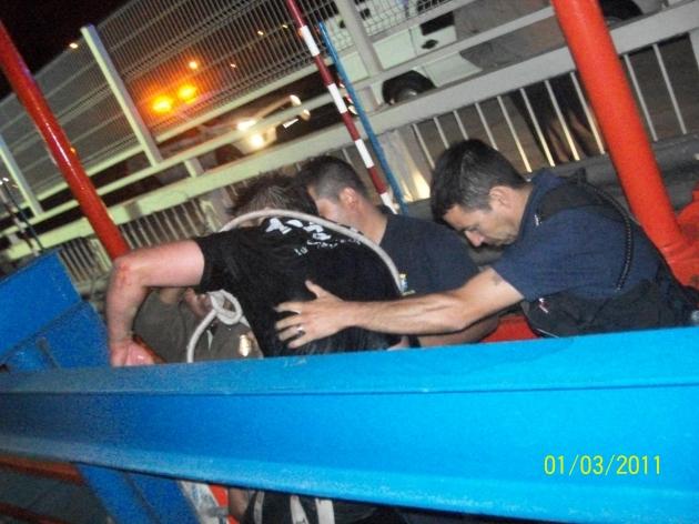 Rescate de joven asaltado y lanzado a las aguas del canal San Carlos | Juan Peñaloza