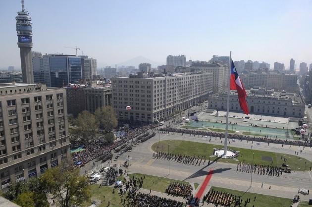Gran Bandera Nacional | Imagen: Foto Presidencia