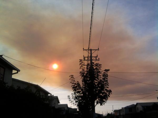 Vista desde San Bernardo | Foto: Cristopher Zambrano vía Twitter